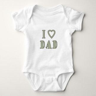 Jag älskar pappan tröja