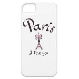 Jag älskar Paris iPhone 5 Hud