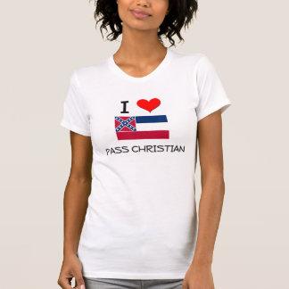 Jag älskar passerar kristna Mississippi Tee