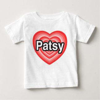 Jag älskar patsyen. Jag älskar dig patsyen. Hjärta T Shirts