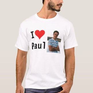 Jag älskar Paul T-shirts