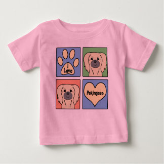 Jag älskar Pekingese T-shirt