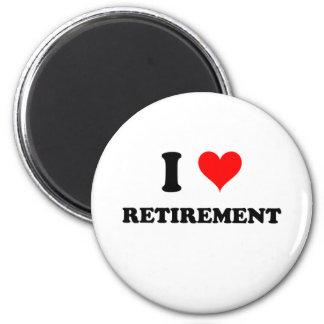 Jag älskar pension magnet