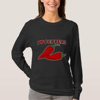 Jag älskar peppar t shirt