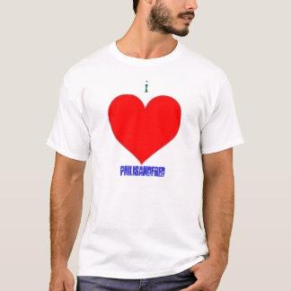 Jag älskar PhilisAndFred manar T-tröja Tee