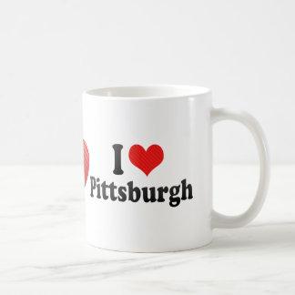 Jag älskar Pittsburgh Kaffemugg