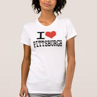 Jag älskar Pittsburgh Tee Shirt