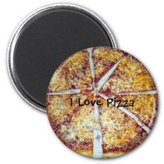 Jag älskar Pizza Magnet