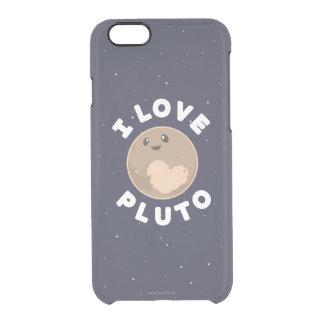 Jag älskar Pluto Clear iPhone 6/6S Skal