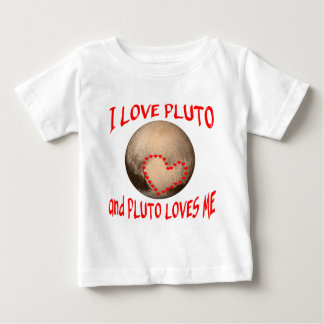 Jag älskar Pluto, och Pluto älskar mig T-shirt
