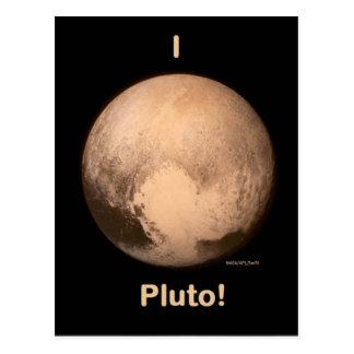 Jag älskar Pluto Vykort