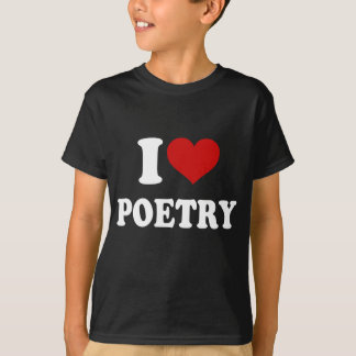 Jag älskar poesi tröja