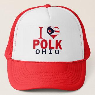 Jag älskar Polk, Ohio Truckerkeps