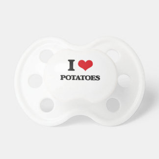 Jag älskar potatisar napp