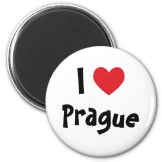 Jag älskar Prague Magnet