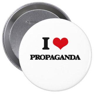 Jag älskar propaganda knappar