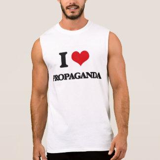 Jag älskar propaganda ärmlös tröja