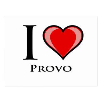 Jag älskar Provo Vykort