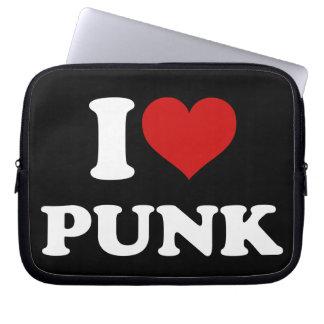 Jag älskar Punk Laptop Sleeve