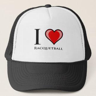 Jag älskar Racquetball Keps