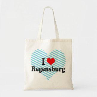 Jag älskar Regensburg, Tyskland Budget Tygkasse