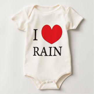 jag älskar regnar krypdräkt