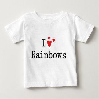 Jag älskar regnbågar tee