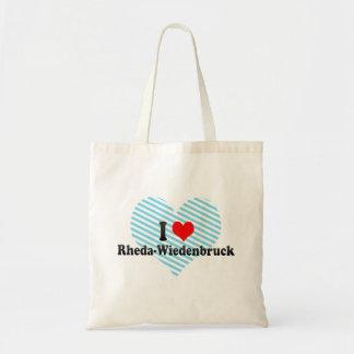 Jag älskar Rheda-Wiedenbruck, Tyskland Tote Bag