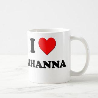 Jag älskar Rihanna Kaffemugg
