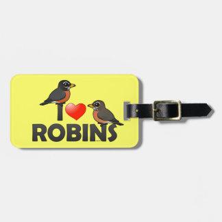 Jag älskar Robins Bagagebricka