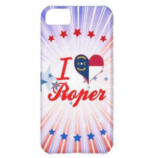 Jag älskar Roper, North Carolina iPhone 5C Fodral