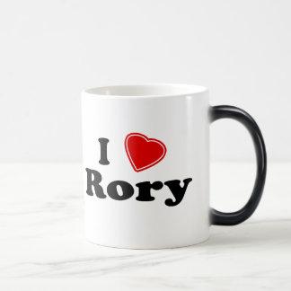 Jag älskar Rory Magisk Mugg