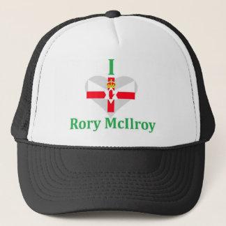 Jag älskar Rory nordliga McIlroy - ireland Truckerkeps