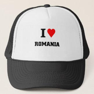 Jag älskar rumänien truckerkeps