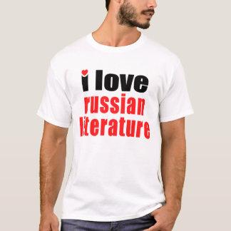 Jag älskar rysk litteratur t shirts