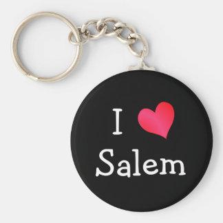 Jag älskar Salem Rund Nyckelring