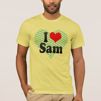 Jag älskar Sam Tröjor