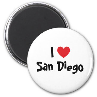 Jag älskar San Diego Magnet
