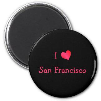 Jag älskar San Francisco Magnet