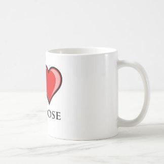 Jag älskar San Jose Kaffemugg
