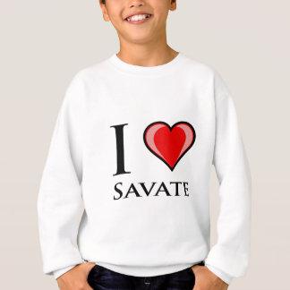 Jag älskar Savate T-shirts