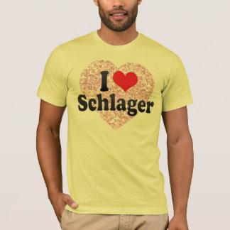Jag älskar Schlager Tee Shirts
