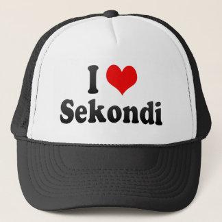 Jag älskar Sekondi, Ghana Keps