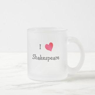 Jag älskar Shakespeare Frostad Glasmugg