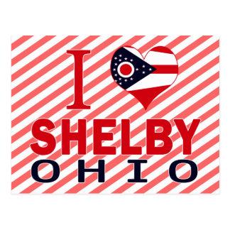 Jag älskar Shelby, Ohio Vykort