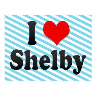 Jag älskar Shelby, United States Vykort