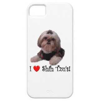 Jag älskar Shih Tzu iPhone 5 Fodral