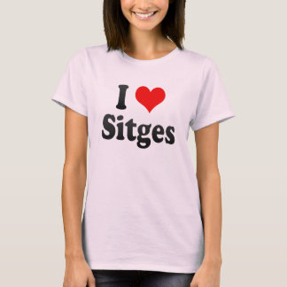 Jag älskar Sitges, Spanien. Mig Encanta Sitges, T Shirts