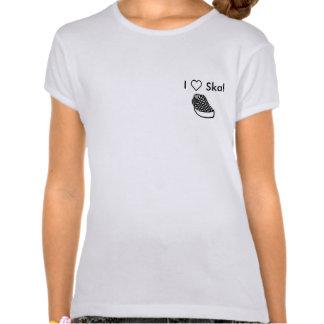 Jag älskar Ska! Tshirts