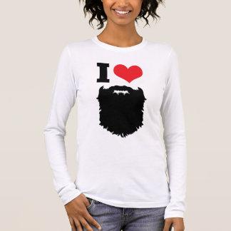 Jag älskar skägg tshirts